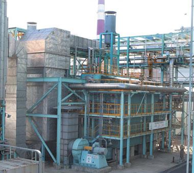 豫园锅炉生物质电站锅炉